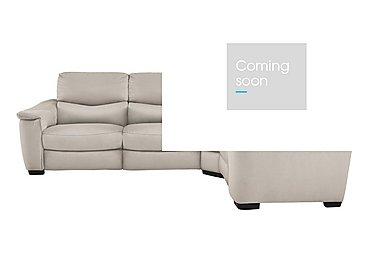 Flex Fabric Recliner Corner Sofa in Bfa-Blj-Rt20 Bisque on Furniture Village
