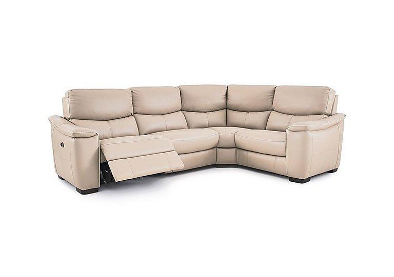 Ordinaire Flex Leather Recliner Corner Sofa