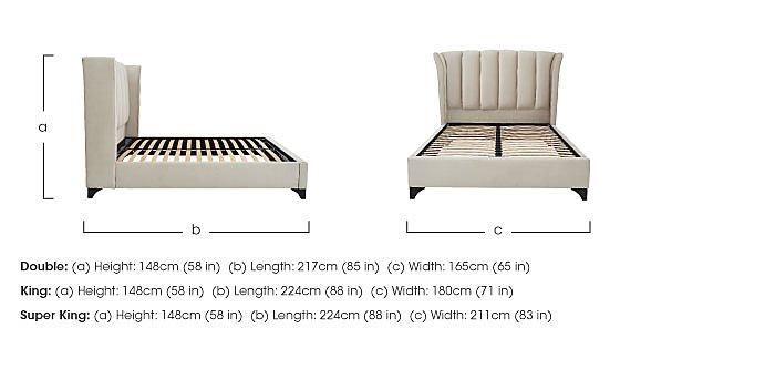 Ariel Bed Frame in  on Furniture Village