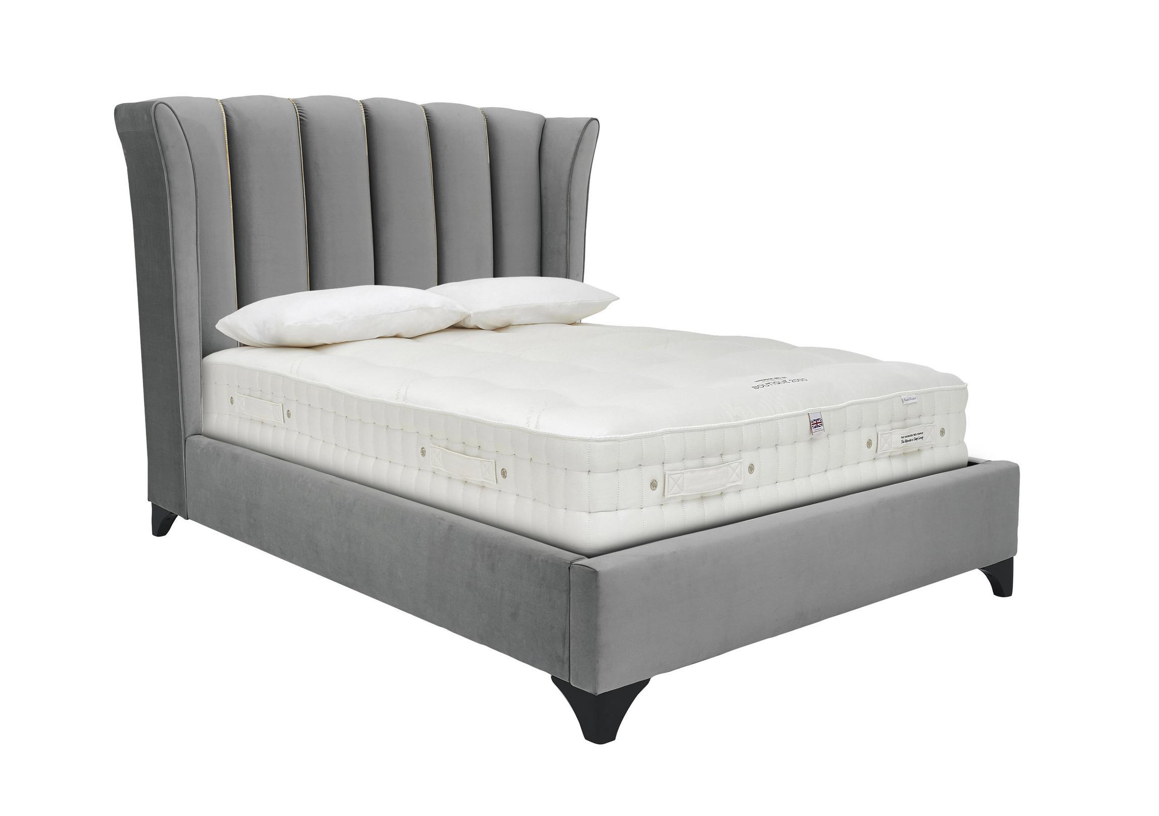 Ariel Velvet Bed Frame - Furniture Village