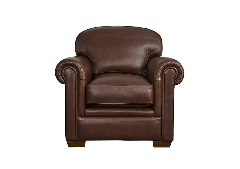 The Derwent Collection Eastmoor Leather Armchair in 1035-31 Dallas Tan on Furniture Village