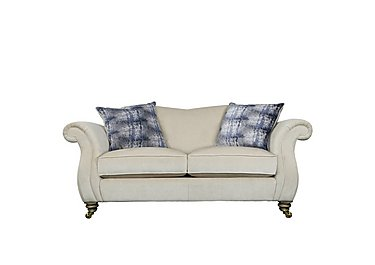 The Derwent Collection Cavendish 2 Seater Fabric Sofa in 1341-51 Vista Oyster on Furniture Village