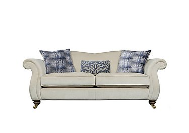 The Derwent Collection Cavendish 3 Seater Fabric Sofa in 1341-51 Vista Oyster on Furniture Village