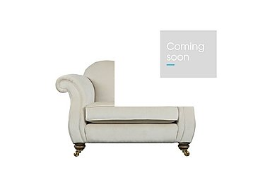 The Derwent Collection Cavendish Fabric Snuggler Armchair in 1341-51 Vista Oyster on Furniture Village
