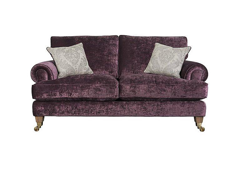 The Derwent Collection Bradwell 2 Seater Fabric Sofa in 1113-71 Mancini Aubergine on Furniture Village