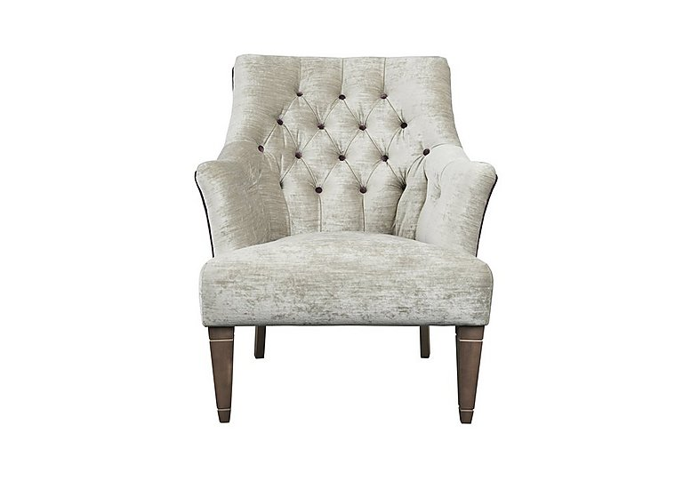 The Derwent Collection Wardlow Fabric Armchair Parker