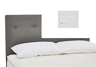 QEST Legacy Birkhall Headboard in Pewter on Furniture Village