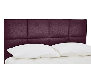 QEST Legacy Clarence Headboard in Heather on Furniture Village