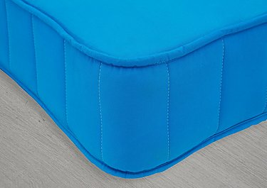 Little Village Single Coil Mattress in 7402-90203 Turquoise on Furniture Village