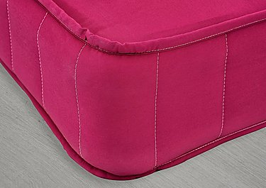 Little Village Single Pocket Mattress in 7402-90204 Cerise on Furniture Village