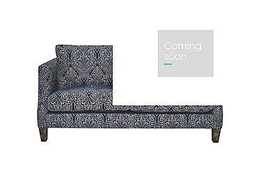 Genevieve 2 Seater Fabric Sofa in Garbo Damask Midnight Bg on Furniture Village