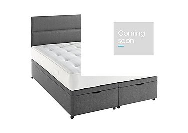 Myerpaedic Ortho Pocket 800 Ottoman Bed with Mattress in 7239 Granite on Furniture Village