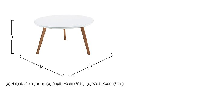 Astrid Coffee Table in  on Furniture Village