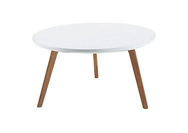 Astrid Coffee Table in White on Furniture Village