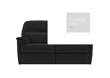 Watson 2 Seater Leather Recliner Sofa in N834 Dallas Slate on Furniture Village