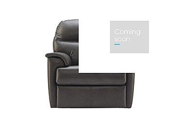 Watson Leather Recliner Armchair in N834 Dallas Slate on Furniture Village