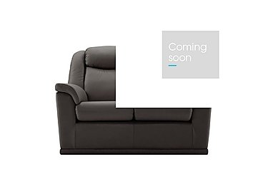 Milton 2 Seater Leather Sofa in N834 Dallas Slate on Furniture Village