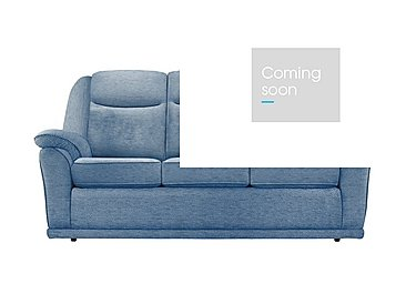Milton 3 Seater Fabric Sofa in A086 Boucle Denim on Furniture Village