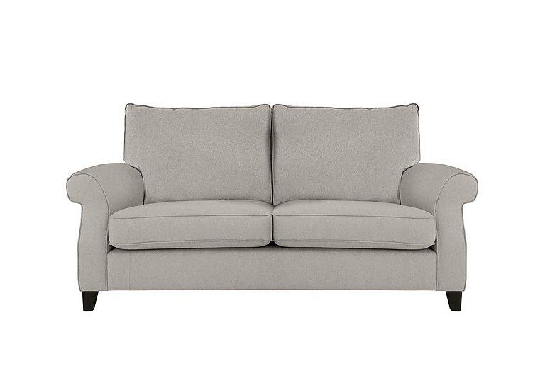 Sahara 2 Seater Fabric Sofa in Denbeigh Ercu Dark Feet on Furniture Village