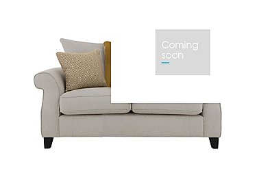 Sahara 2 Seater Fabric Pillow Back Sofa in Denbeigh Ercu Dark Feet on Furniture Village