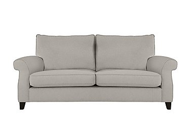 Sahara 3 Seater Fabric Sofa in Denbeigh Ercu Dark Feet on Furniture Village