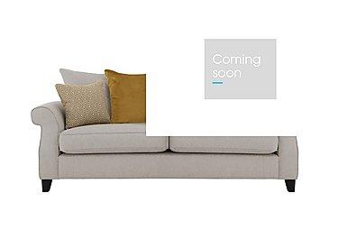 Sahara 3 Seater Fabric Pillow Back Sofa in Denbeigh Ercu Dark Feet on Furniture Village