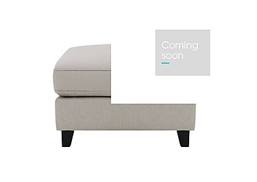 Sahara Fabric Footstool in Denbeigh Ercu Dark Feet on Furniture Village