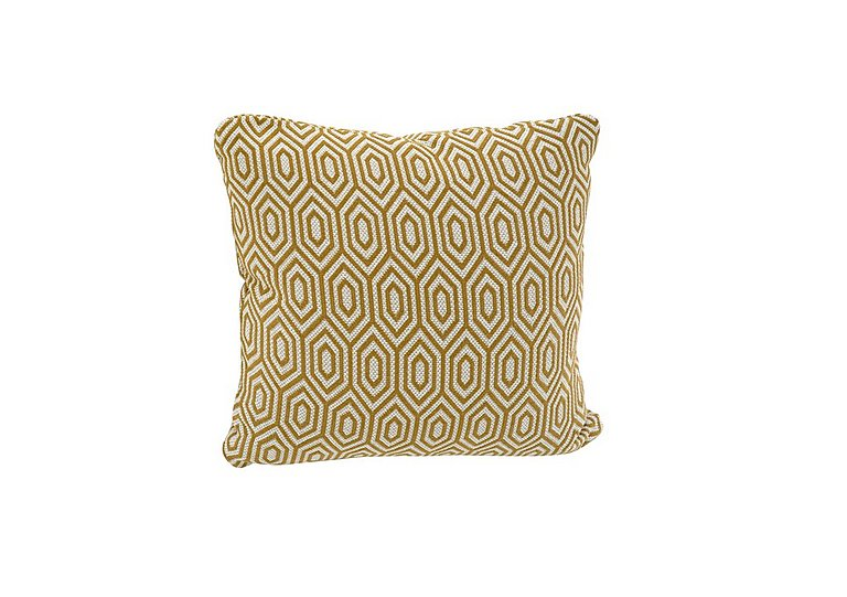 Sahara Fabric Scatter Cushion in Octave Ochre on Furniture Village
