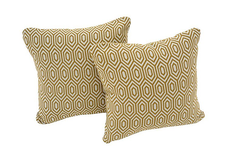 Beau Sahara Pair Of Fabric Scatter Cushions