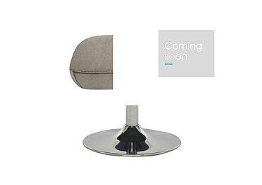 Sanza Fabric Footstool in Bfa-Raf-R946 Silver Grey on Furniture Village