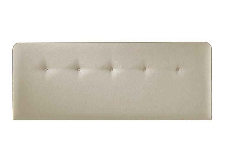 Yummy Headboard in 6633 French Linen on Furniture Village