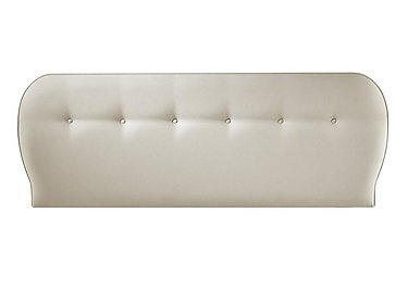 Hipster Headboard in 6633 French Linen on Furniture Village