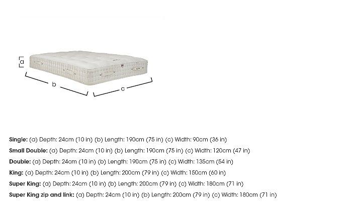 Boutique 4000 Pocket Sprung Mattress in  on Furniture Village
