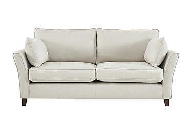 High Street Bond Street 4 Seater Fabric Sofa in Denbigh Ecru on Furniture Village