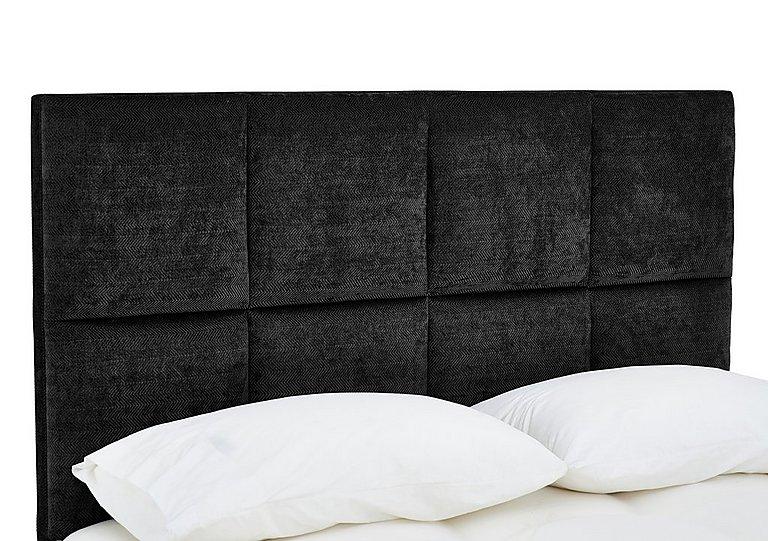 Sanderson Headboard in Orchidea Black on Furniture Village