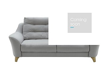 Pip 3 Seater Fabric Recliner Sofa in C242 Brush Pewter on Furniture Village
