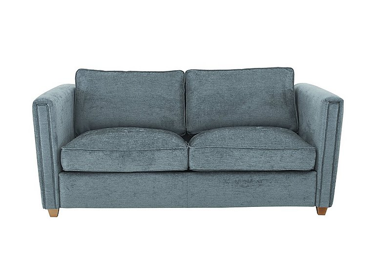 Austin 3 Seater Fabric Sofa Bed in 20560 Denim on Furniture Village
