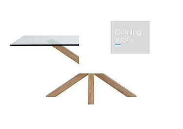 Evoque 160cm Dining Table in Natural on Furniture Village