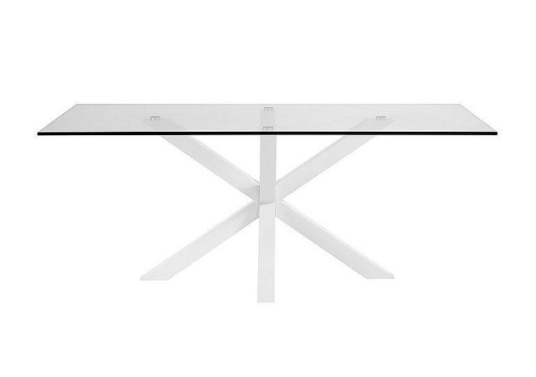Evoque 200cm Dining Table in Matt White on Furniture Village