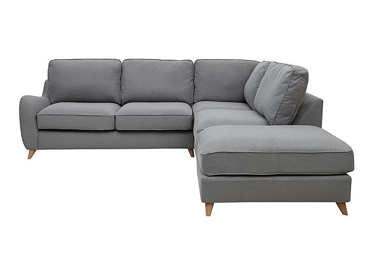 Beau Carrara Fabric Corner Chaise Sofa   Only One Left!