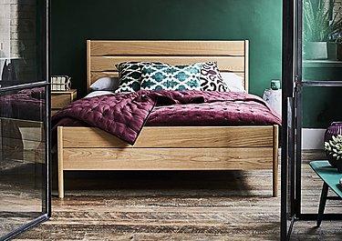 Rimini Wooden Bed Frame in  on Furniture Village