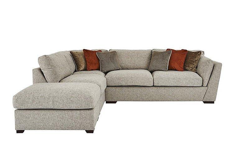Bailey Fabric Corner Sofa With Footstool Furniture Village