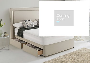 Mirapocket Serenity 1200 Memory Half Ottoman Divan Set in  on Furniture Village