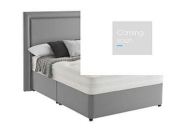 Mirapocket Serenity 1200 Divan Set in Slate Grey on Furniture Village