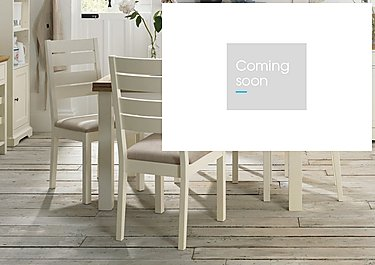 Compton Extending Dining Table and 4 Slatted Back Chairs in  on Furniture Village