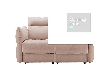 Tess 2 Seater Fabric Sofa in C243 Brush Rose on Furniture Village