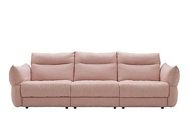 Tess 3 Seater Fabric Sofa in C243 Brush Rose on Furniture Village