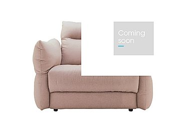 Tess Large Fabric Armchair in C243 Brush Rose on Furniture Village