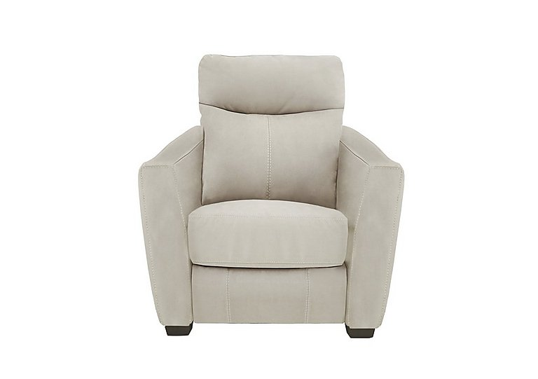 Compact Collection Midi Fabric Recliner Armchair in Bfa-Blj-R20 Bisque on Furniture Village
