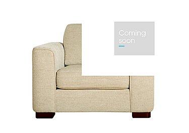 Eleanor Fabric Snuggler Chair in Kento Cream - Bf on Furniture Village